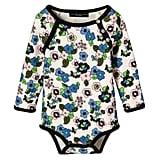 Baby Light Floral Long Sleeve Bodysuit ($13)