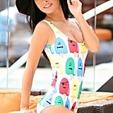 Angry Popsicle One-Piece Swimsuit