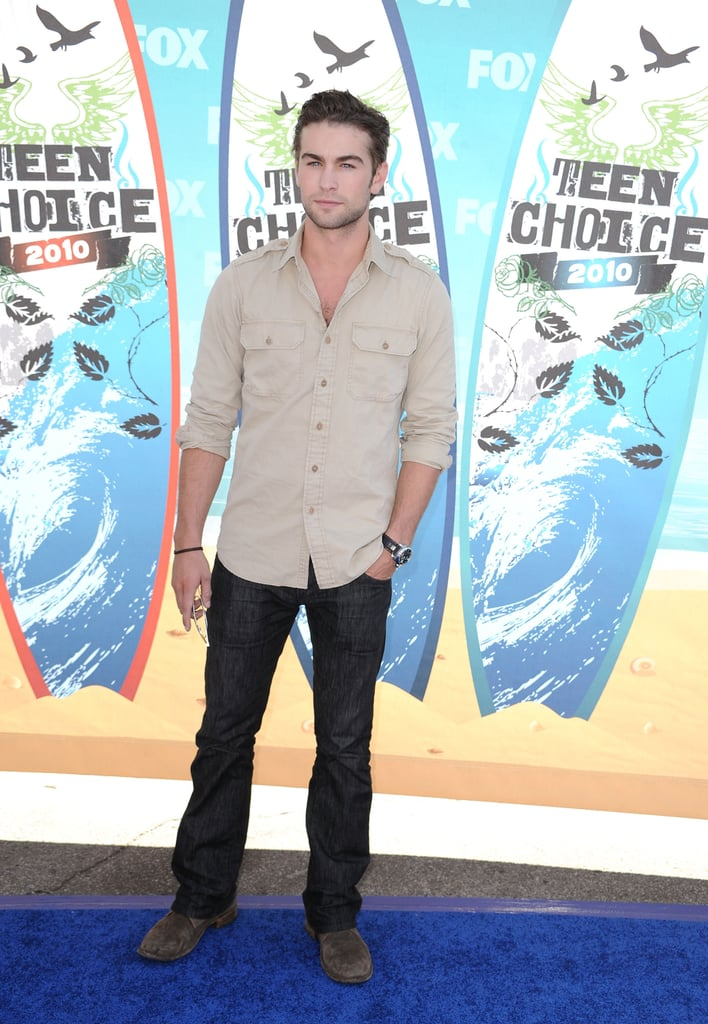 Chace Crawford at the 2010 Teen Choice Awards