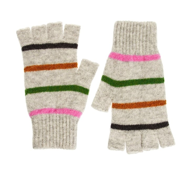 Super quirky, and with the fingerless feature, it also means you can text easily — a win-win, right? You can thank these striped Quinton & Chadwick gloves ($39) all Fall long.