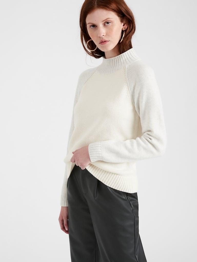 Banana Republic Chunky Colour-Block Sweater
