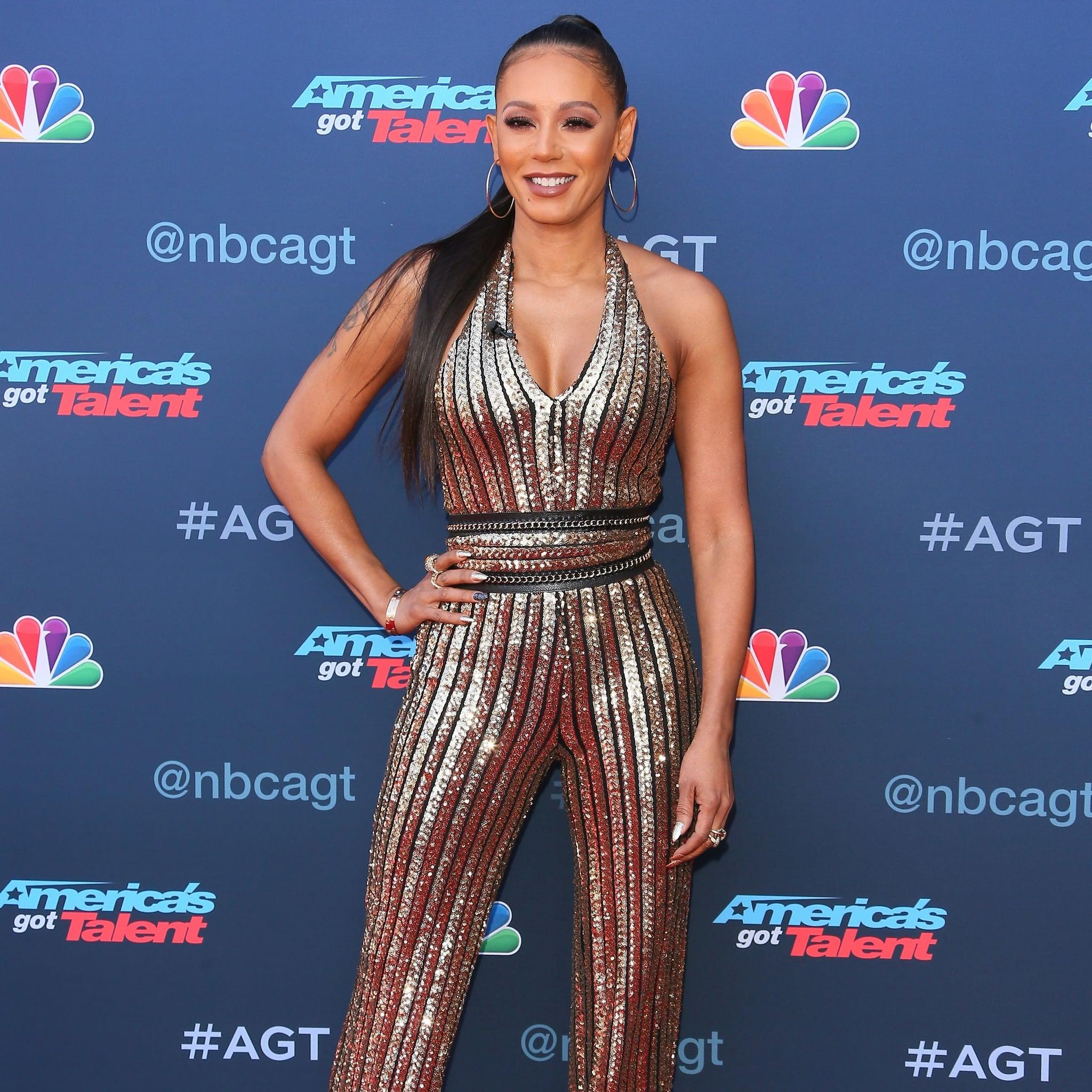 Americas got talent 2017 dates - Mel B At America S Got Talent Season 12 Event March 2017 Popsugar Celebrity