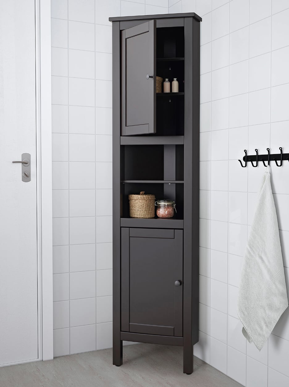 Hemnes Corner Cabinet Small Bathrooms Meet Big Storage Solutions 60 Ikea Products That Give You All The Space You Need Popsugar Home Photo 45