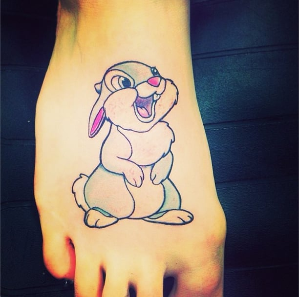The Perfect Spot For a Thumper Tattoo
