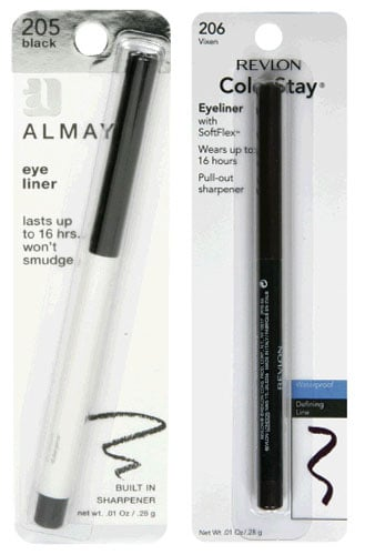Battle of the Drugstore Eyeliners: Almay Vs. Revlon's ColorStay