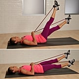 Lower Abs: Resistance Band Flutter Kicks