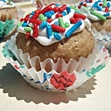 Organic birthday pupcakes come in a variety of delectable flavors (think sweet potato, carrot, double carob, or a combo) to brighten your dog's special day.
