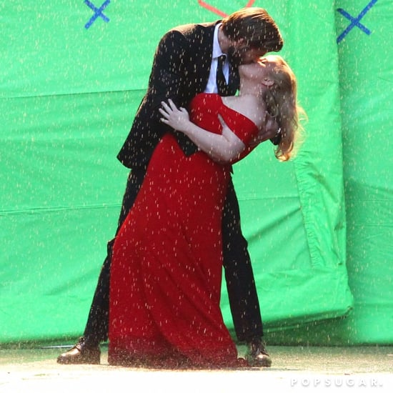 Liam Hemsworth and Rebel Wilson Isn't It Romantic Set Photos
