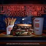 Burger King Stranger Things Whopper