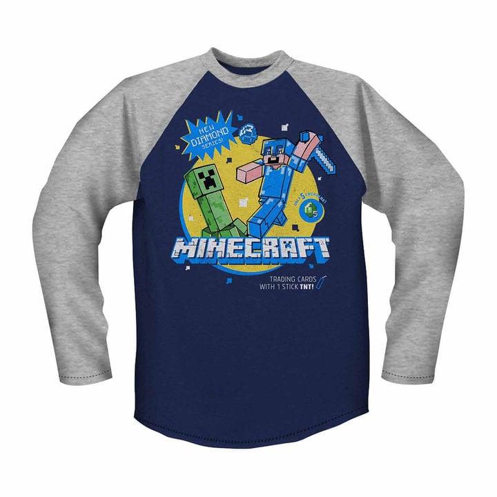 Minecraft Raglan T-Shirt