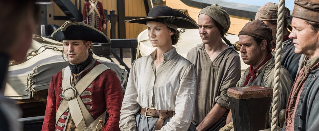 Outlander: Why Does Claire Jump Off the Porpoise? An Explanation
