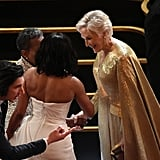 Pictured: Glenn Close, Celebrities, Oscars, Regina King, and Adam Driver