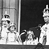 The Queen on the Palace Balcony