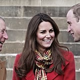 Prince Charles and the queen pick up the tab for Will and Kate. Prince William and Kate's household staff — which includes their tour entourage — is funded completely by the income of Prince Charles through the Duchy of Cornwall, as is Kate's official wardrobe. The Duchy, an estate inherited by the eldest son of the reigning monarch, is worth an estimated $1.2 billion (that's right) and makes a profit of $32 million per year. Will and Kate do not receive money from British taxpayers directly but instead rely on Prince Charles and the queen's grant-in-aid funding to pay for official travel on her behalf.  But it will also cost the New Zealand and Australian taxpayers a pretty penny. New Zealand media estimates the trip will cost the country's taxpayers almost $1 million. The cost comes in flights provided by the Royal New Zealand Air Force, preparation work, accommodation and meals provided, and media communication costs.  In Australia, the trip is estimated to cost about $2 million. Flights alone are meant to cost almost $300,000. Compared to a state visit by a sitting foreign president and his/her entourage, however, the royals are considered inexpensive state visitors.