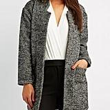 Charlotte Russe Tweed Coat