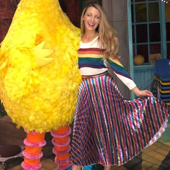 Blake Lively Sesame Street Outfit