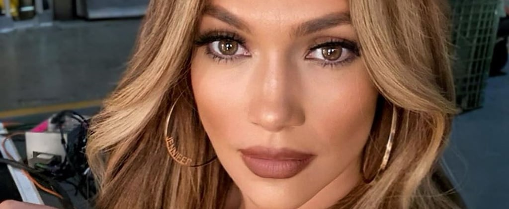 Jennifer Lopez Tries the Chunky-Highlights Trend