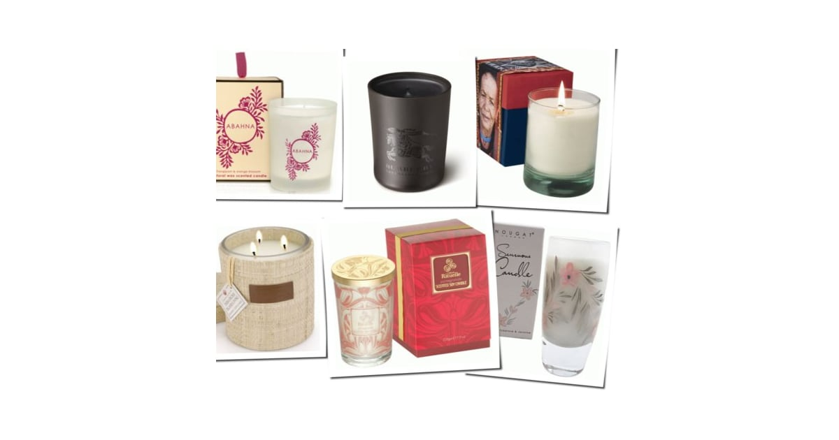 six of the best christmas candles