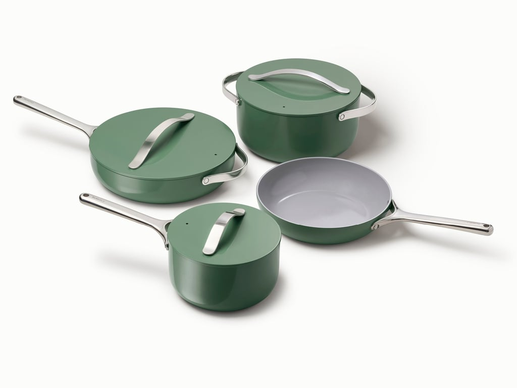 Caraway Nonstick Ceramic-Coated Cookware Set