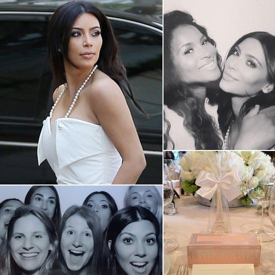 Kim Kardashian's Wedding Shower 2014 | Pictures