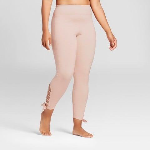 eb284888b18d4 JoyLab Women s Plus Comfort Side Tie 7 8 Leggings