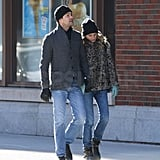 Photos of Joshua Jackson and Diane Kruger Walking Around NYC 2009-12-14 09:21:47