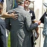 Prince Charles and Zara Tindall