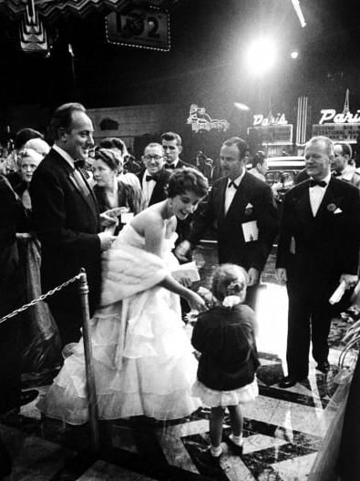 Elizabeth Taylor at the 1953 Academy Awards