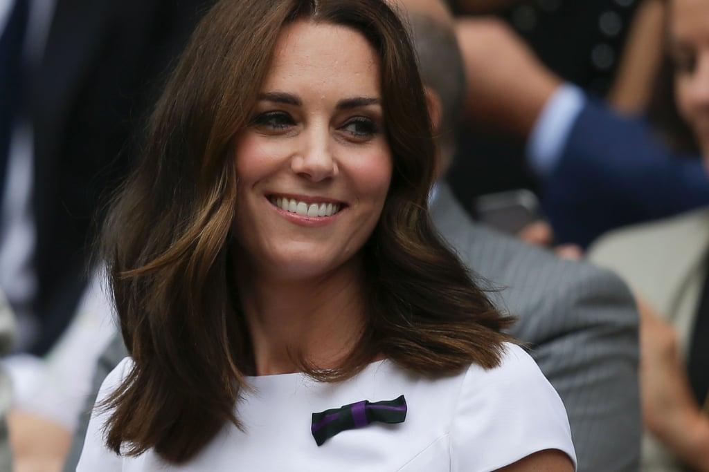 Kate Middleton's Mid-Length Cut, 2017