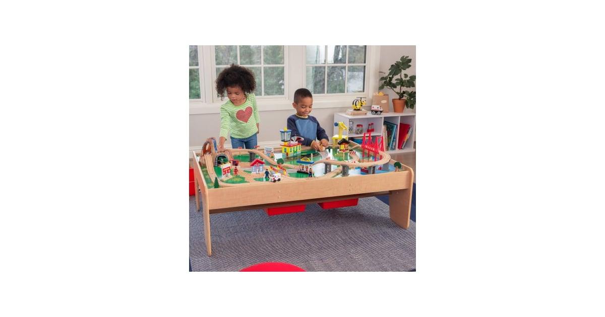KidKraft Waterfall Mountain Train Set u0026 Table | Toys For Kids From Walmart | POPSUGAR Moms Photo 22  sc 1 st  Popsugar & KidKraft Waterfall Mountain Train Set u0026 Table | Toys For Kids From ...
