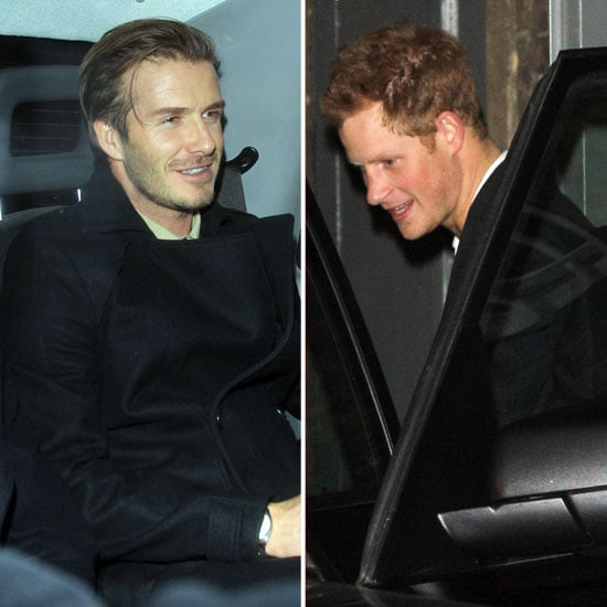 David Beckham and Prince Harry Clubbing in London Pictures