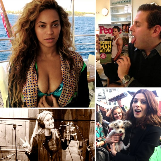 Pictures of Celebrities on Social Media | Nov. 15, 2012