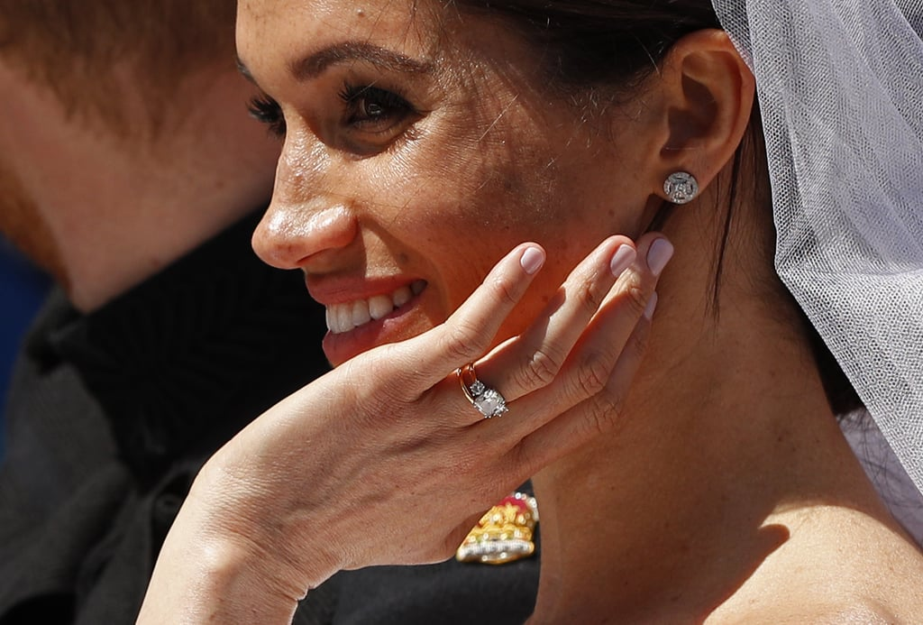 Meghan Markle Wore CND Shellac Nail Polish on Wedding Day