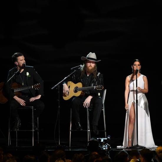 Las Vegas Shooting Tribute at the 2018 Grammys