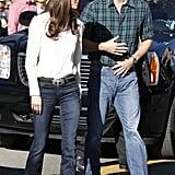 Kate Middleton in Flares