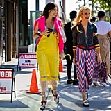 Leandra Medine and Zanna Roberts Rassi aren't afraid of a little — or a lot – of color.