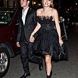 Bella Thorne and Gregg Sulkin PDA at NYFW