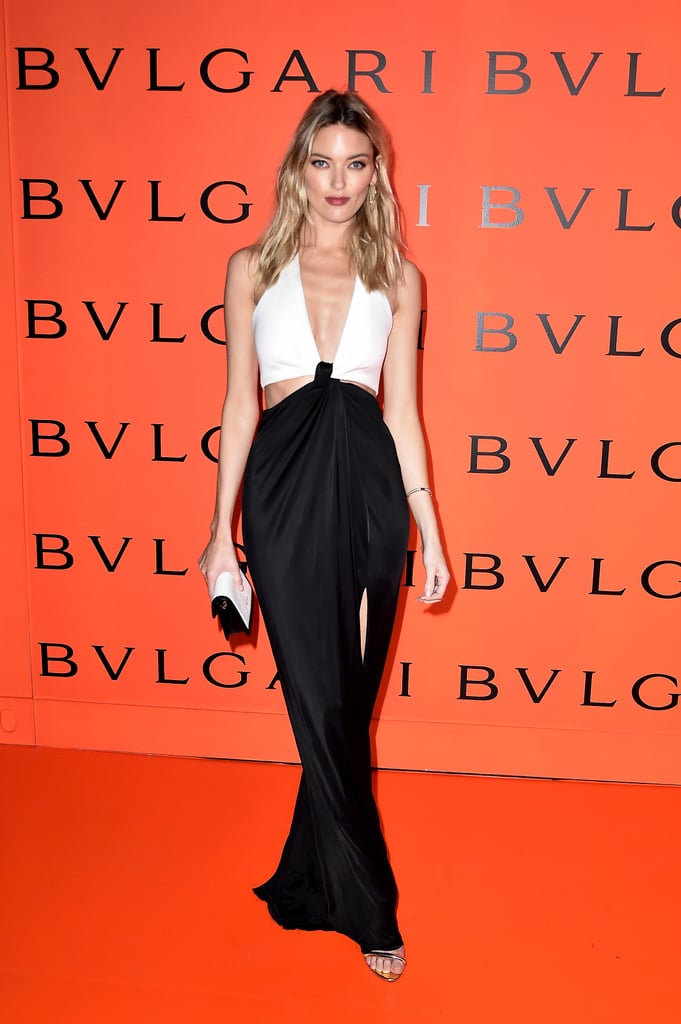 Martha Hunt at the Bulgari Party at New York Fashion Week