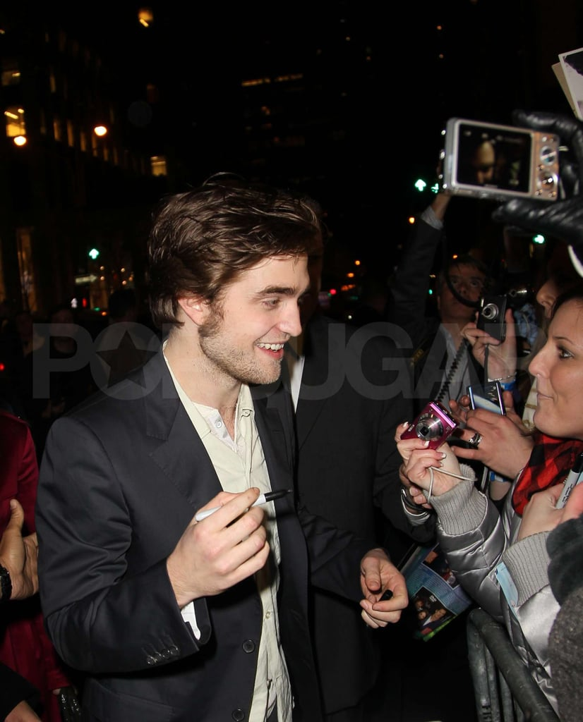 Photos of Rob Pattinson With Fans