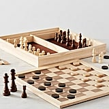Chess & Checkers Family Game Set