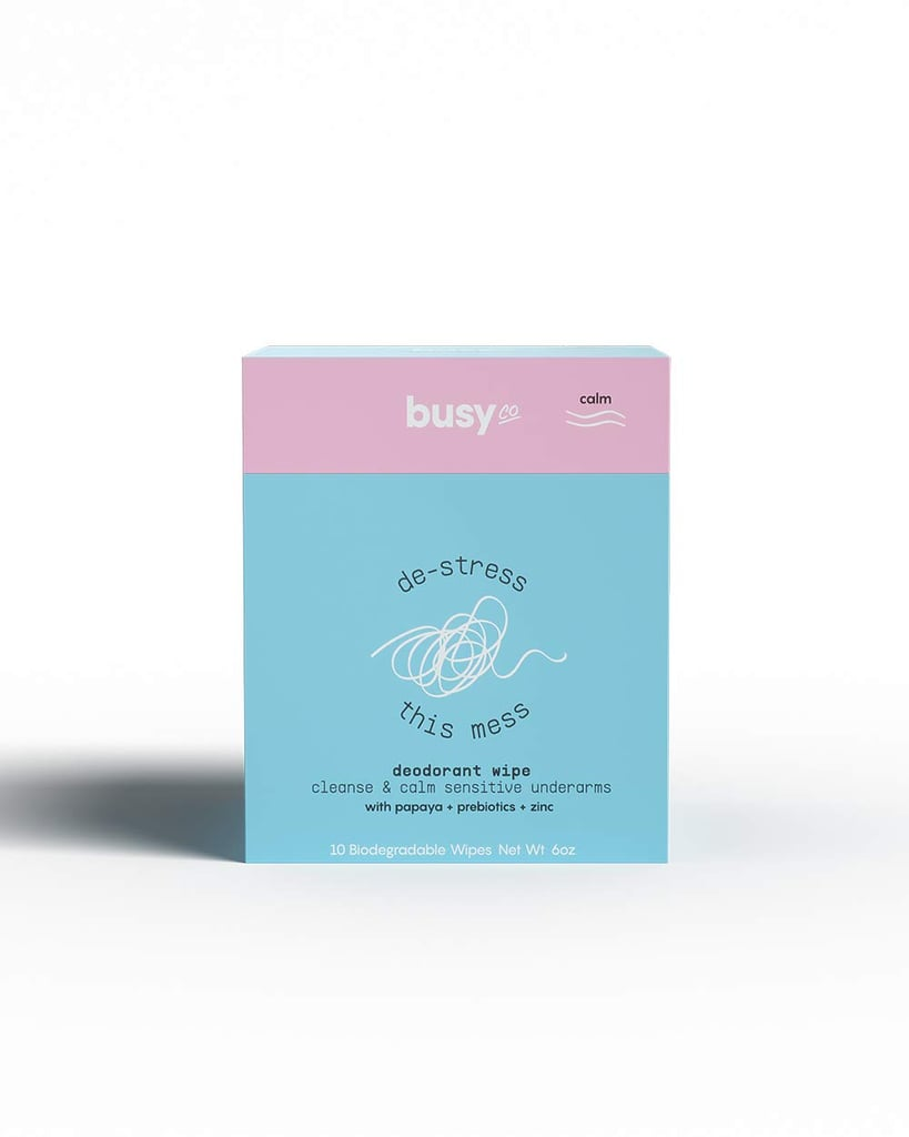 Busy Co Deodorant Wipes in Calm Unscented
