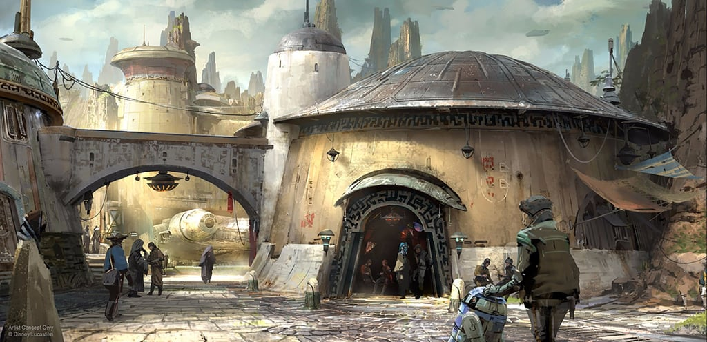 Disney's New Preview of Star Wars Land Has Our Hearts Going Lightspeed