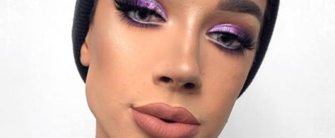 Grape-Soda-Colored Eyes Are Now a Thing, Thanks to James Charles