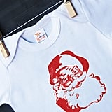 Hen & Co. Santa onesie ($22)