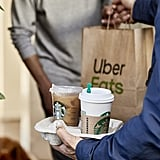Starbucks Announces Uber Eats Delivery App