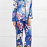 Olivia von Halle Lila Floral-Print Pajama Set