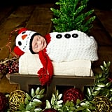 Newborn Snowman Bag