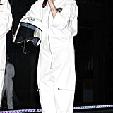 Lady Gaga in Astronaut Costume at 2013 Artpop NYC Release Party