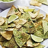 Skip the Tostitos and try your hand at freshly baked tortilla chips to serve alongside your party dip and salsas.