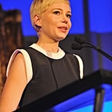 Michelle Williams spoke at an Irish event.